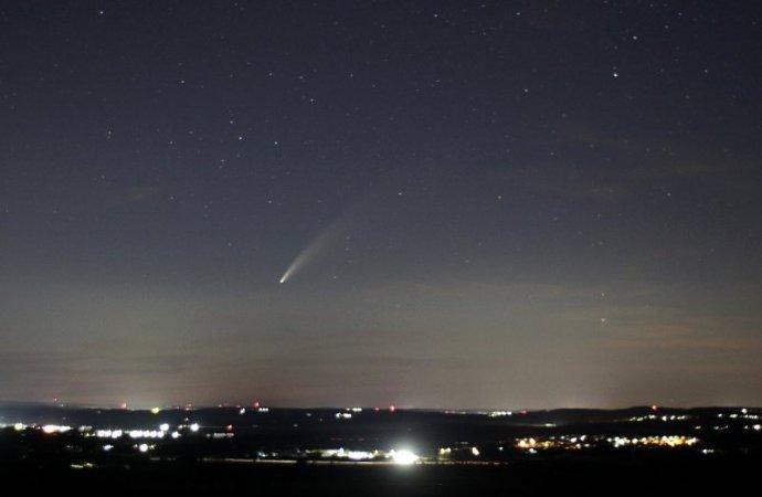 Komet Neowise zieht über die Baar (12.07.2020)
