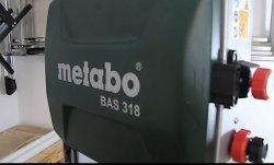 Wie gut ist die Bandsäge Metabo BAS 318?