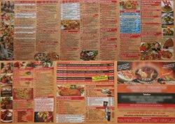 Keine leichte Wahl: 304 Gerichte auf einer Karte, alle frisch gekocht ;-)